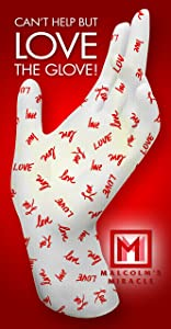 Malcolm's Miracle LOVE Moisturizing Gloves (Small) - GUARANTEED for TWO YEARS - Made in the USA (Small)