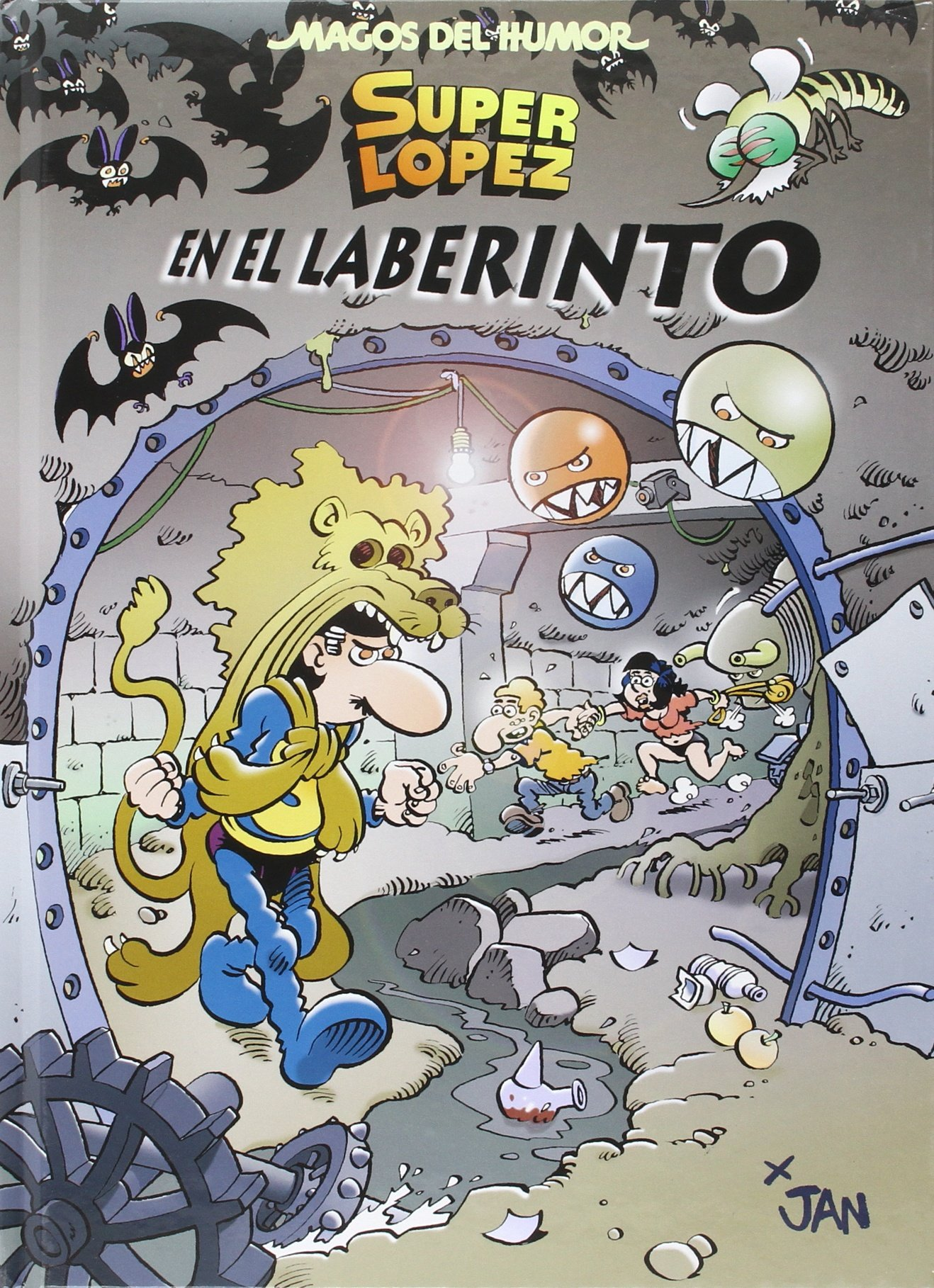 Superlópez. En el laberinto (Magos del Humor 173): Amazon.es ...