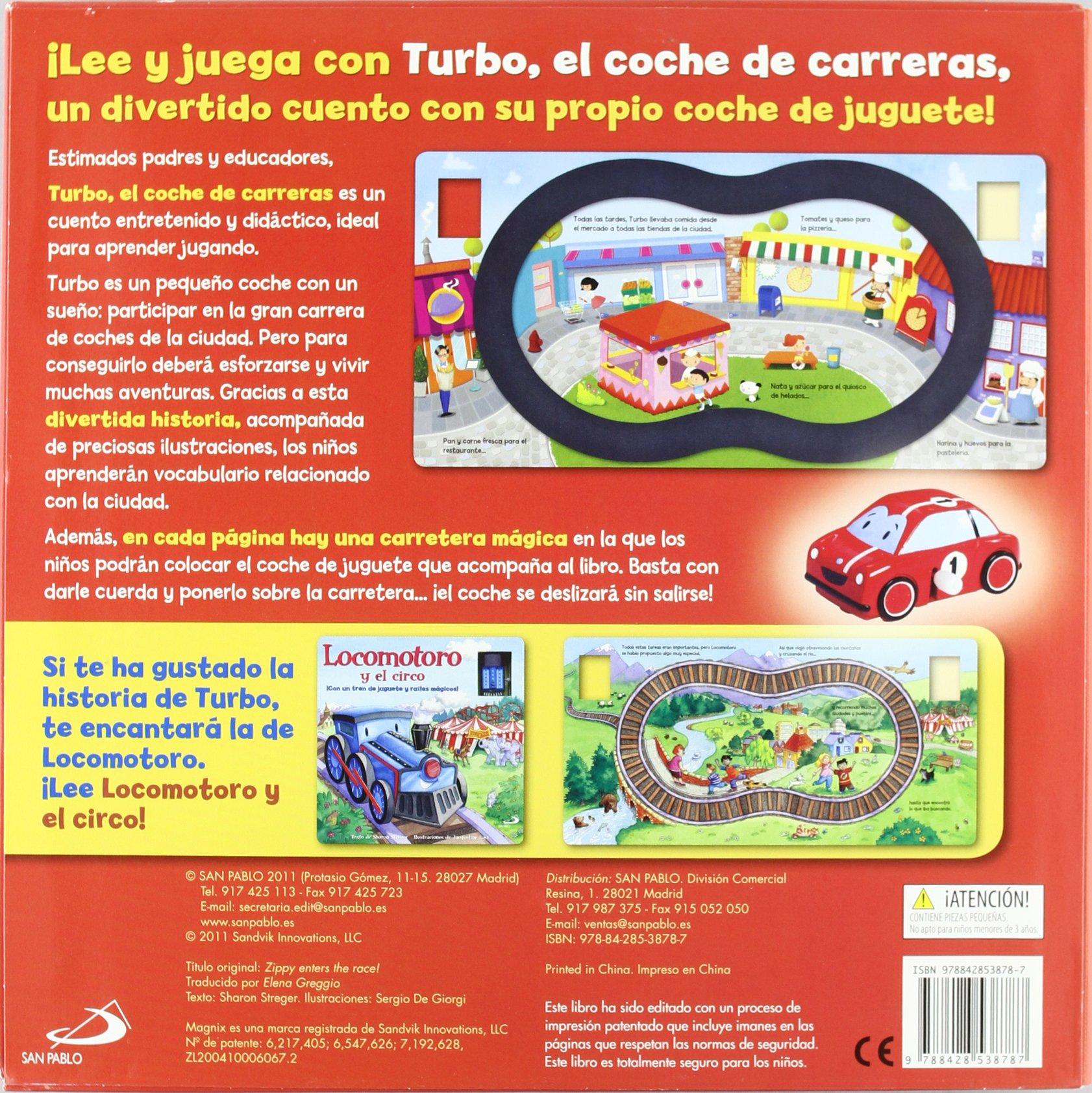 Turbo - el coche de carreras Coches Y Otros Vehiculos: Amazon.es: Aa.Vv.: Libros