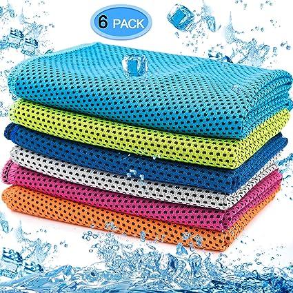 Mikrofaser Kühltuch Kühlhandtuch Schnelltrocknende Sport Handtuch mit
