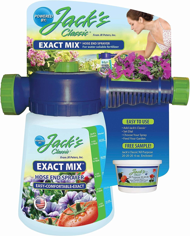 JR Peters 50000 Jack's Exact Mix Hose End Sprayer