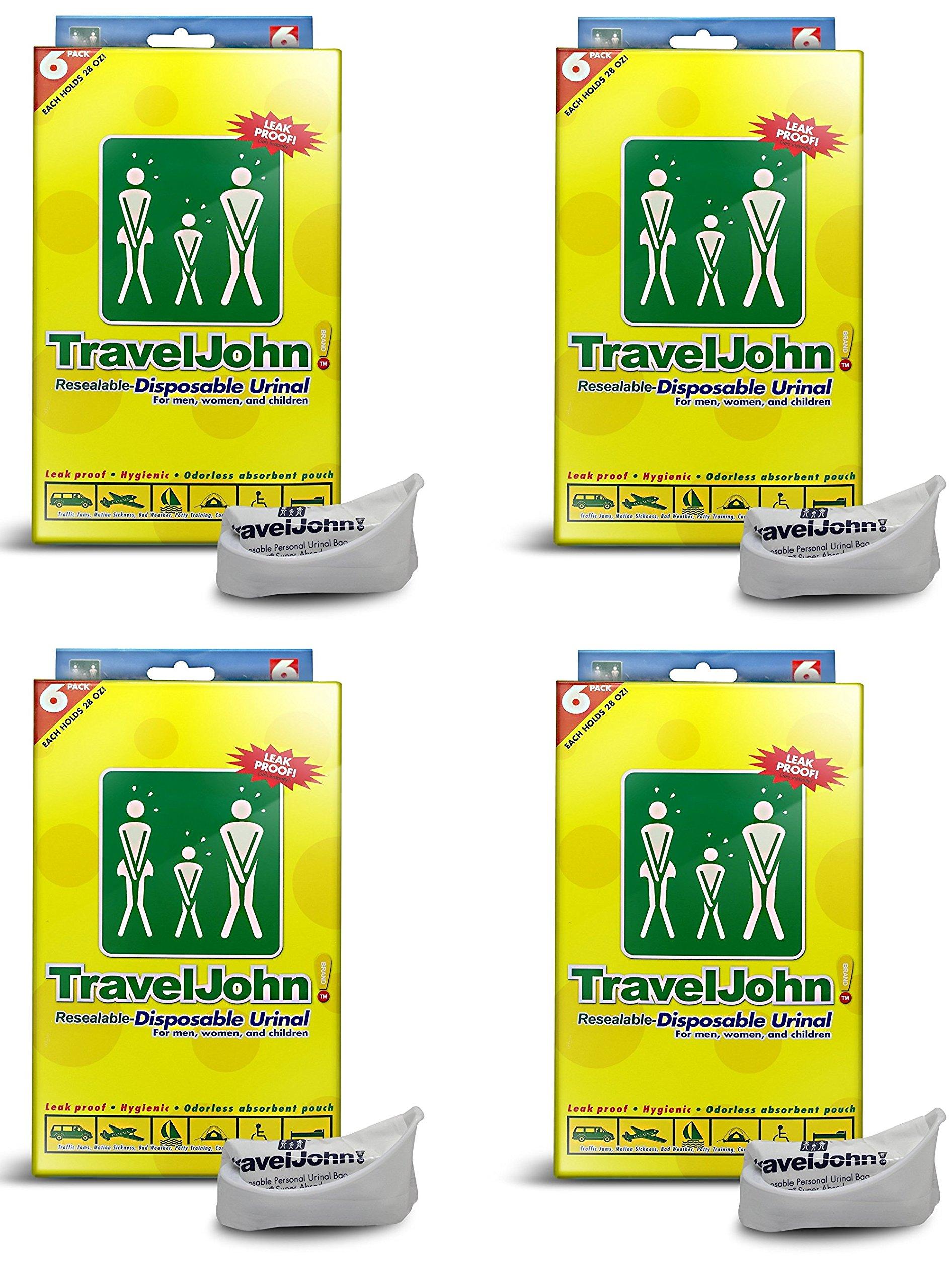 TravelJohn-Disposable Urinal (24 PACK)