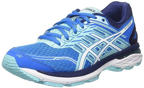 ASICS Gt-2000 5, Zapatillas de Running para Mujer, Azul (Diva Blue / White / Aqua Splash), 40 EU: Amazon.es: Zapatos y complementos