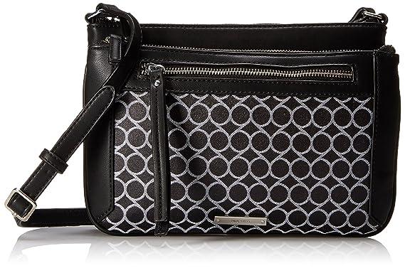 925f9869c ... handbags; nine west fearless remix crossbody black white ...