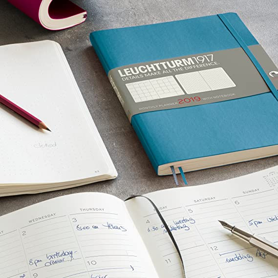Leuchtturm1917 357882 Mes Agenda con cuaderno 2019 Soft ...