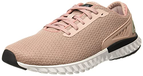 Image Unavailable. Image not available for. Colour  Reebok Women s Wave Ride  Shell Pink Blk Metsil Wht Running Shoes ... 9990f2018