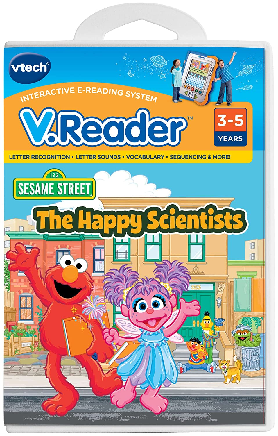 Vtech - V.Reader Software - Elmo The Happy Scientists 80-281300