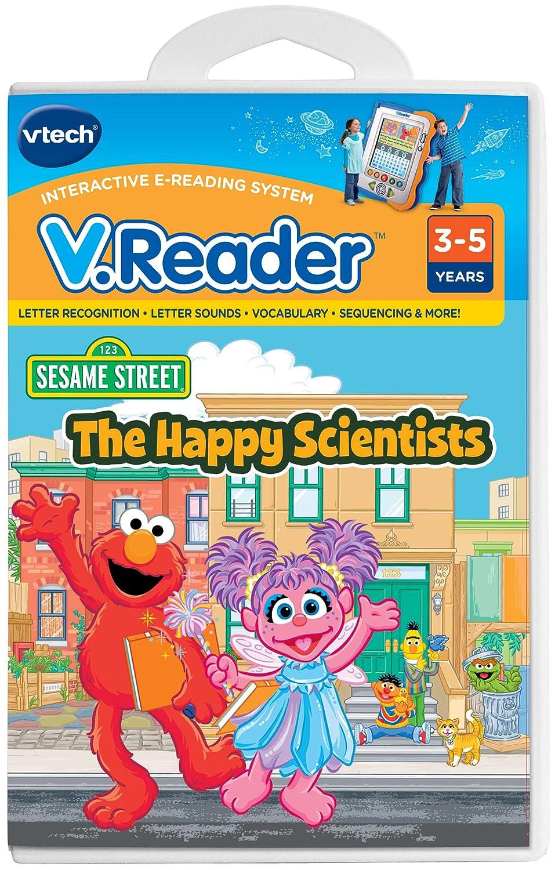 Vtech - V.Reader Software - Elmo The Happy Scientists 80-281300