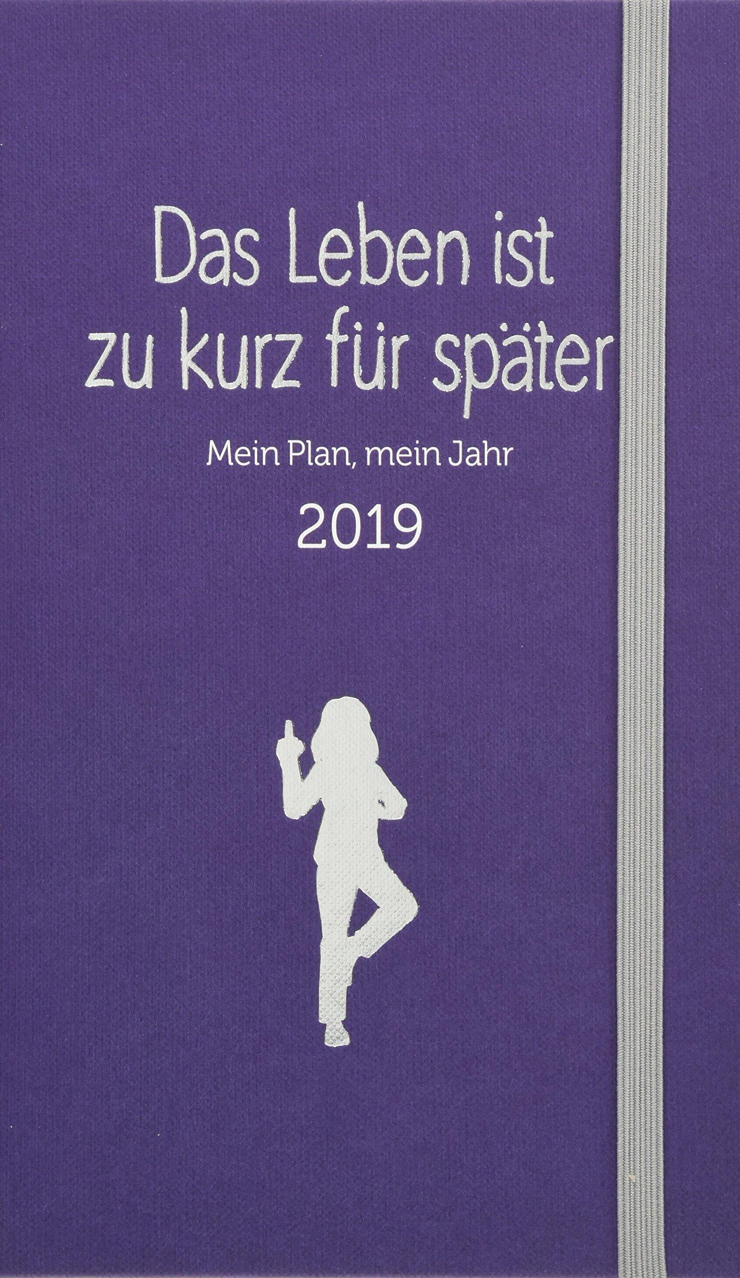 Das Leben ist zu kurz für später - Kalender: Mein Plan, mein Jahr 2019 Kalender – 11. Juni 2018 Alexandra Reinwarth mvg Verlag 3868829342 Buchkalender