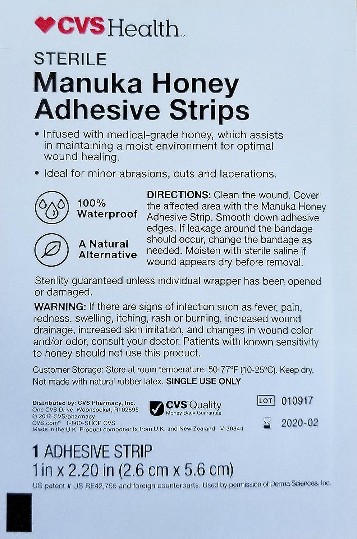 amazon com cvs health sterile manuka honey adhesive strips 1