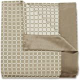Stylemaster Dakota Full Reversible Bedspread with Faux Silk Border, Natural