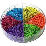 Decorative Multi-Colored 28 mm Paper Clips for Home
