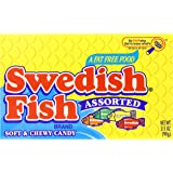 Swedish fish assorted soft chewy candy 5 for Swedish fish amazon