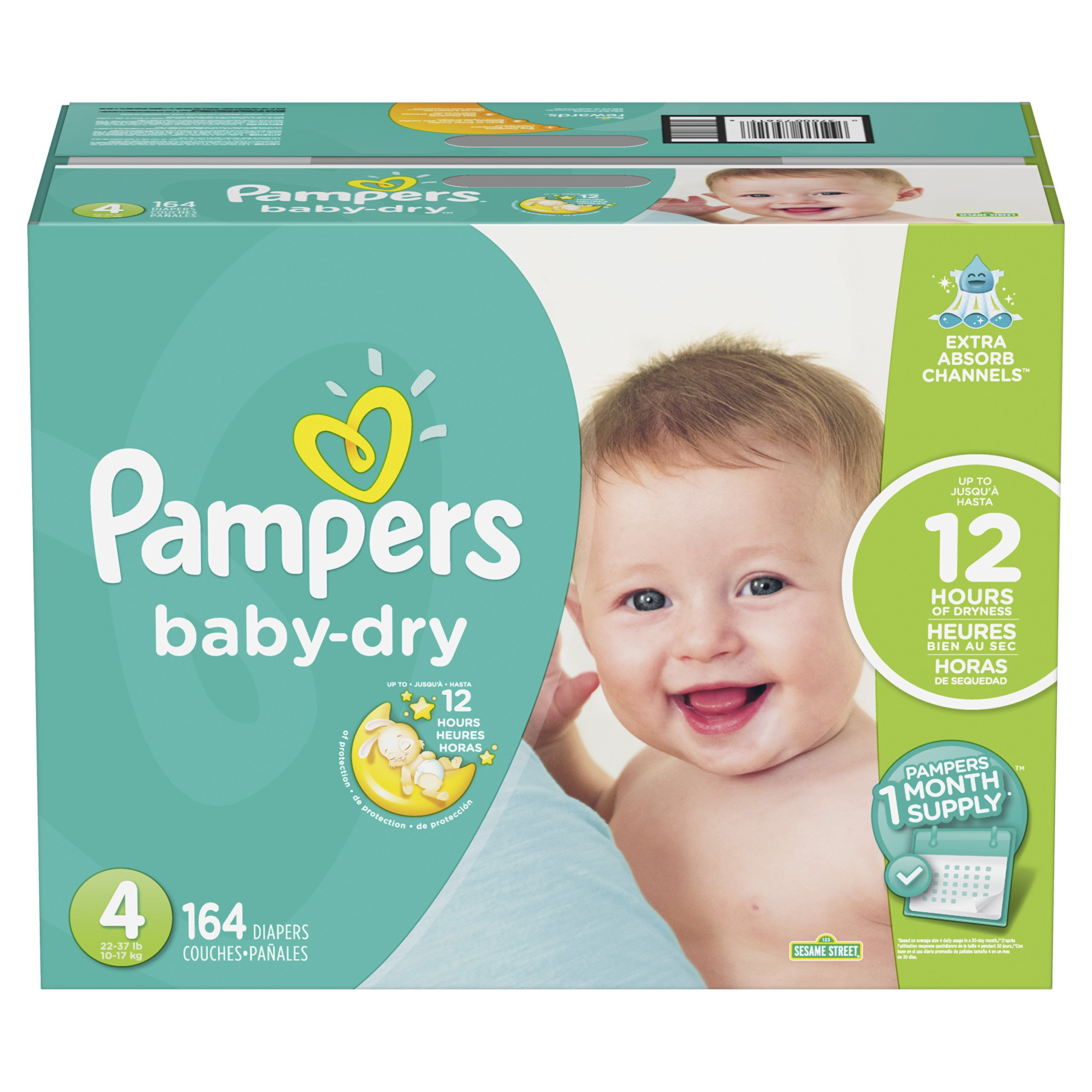 pampers baby dry disposable diapers size 3. Black Bedroom Furniture Sets. Home Design Ideas