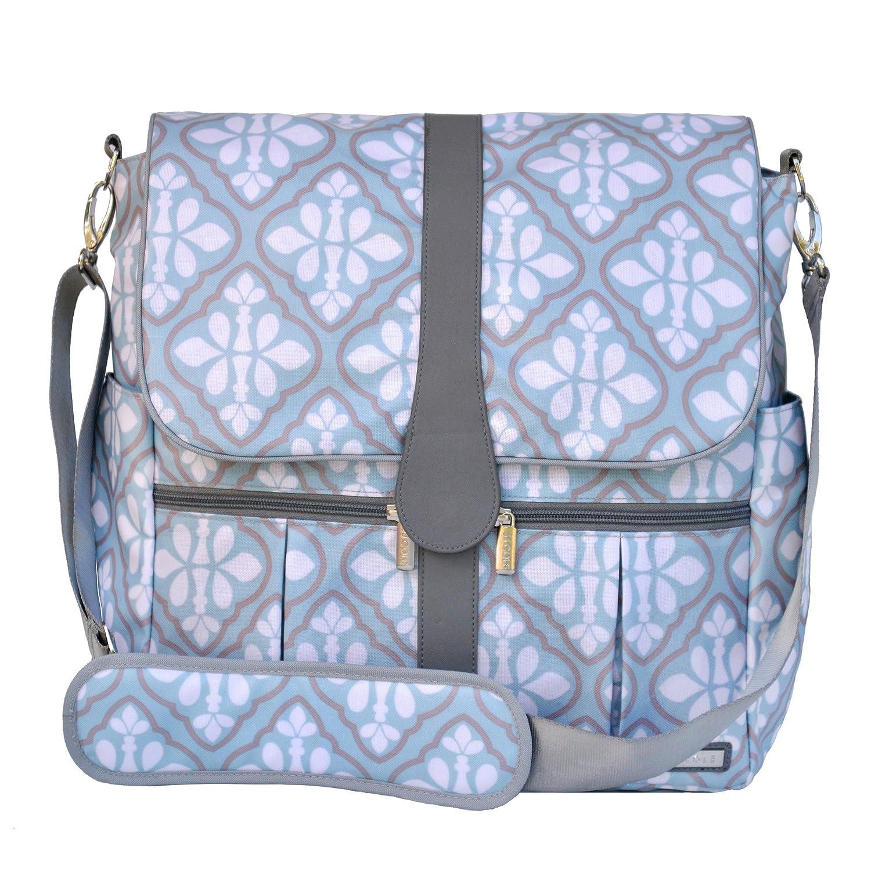 JJ Cole Backpack Diaper Bag, Gray Heather J00541