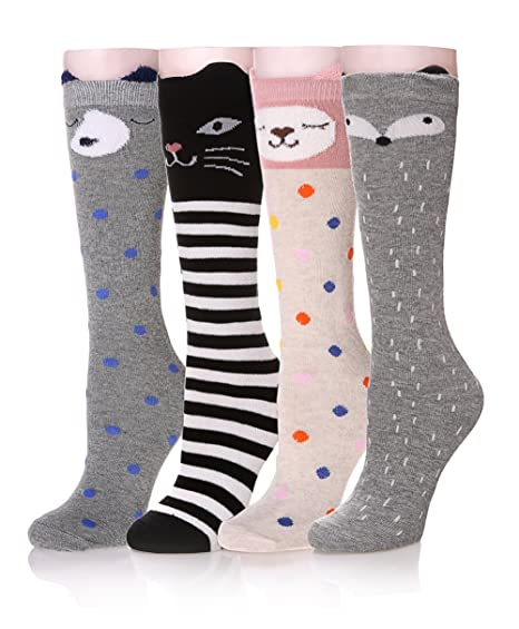 Stockings Underwear & Sleepwears Charitable Colorful Rainbow Women Knee High Socks Girls Over Knee Leg Warmer Soft Stripe Knit Socks Latest Technology