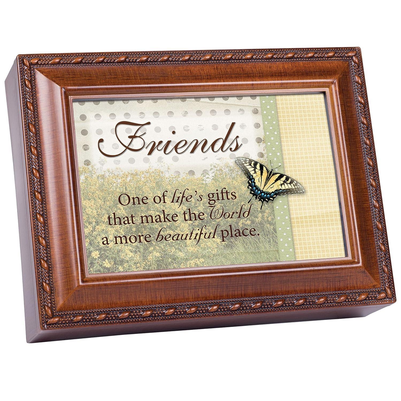 【オープニング大セール】 Cottage Garden Friends Cottage Woodgrain音楽ボックス/ジュエリーボックスPlays Friends Thats Garden What Friends Are For B00BRX5PJK, アクアステラ:deb84890 --- svecha37.ru