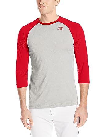 bdb8a3abe71fc New Balance Men's Three-Quarter Sleeve Baseball Raglan Tee, T-Shirts -  Amazon Canada