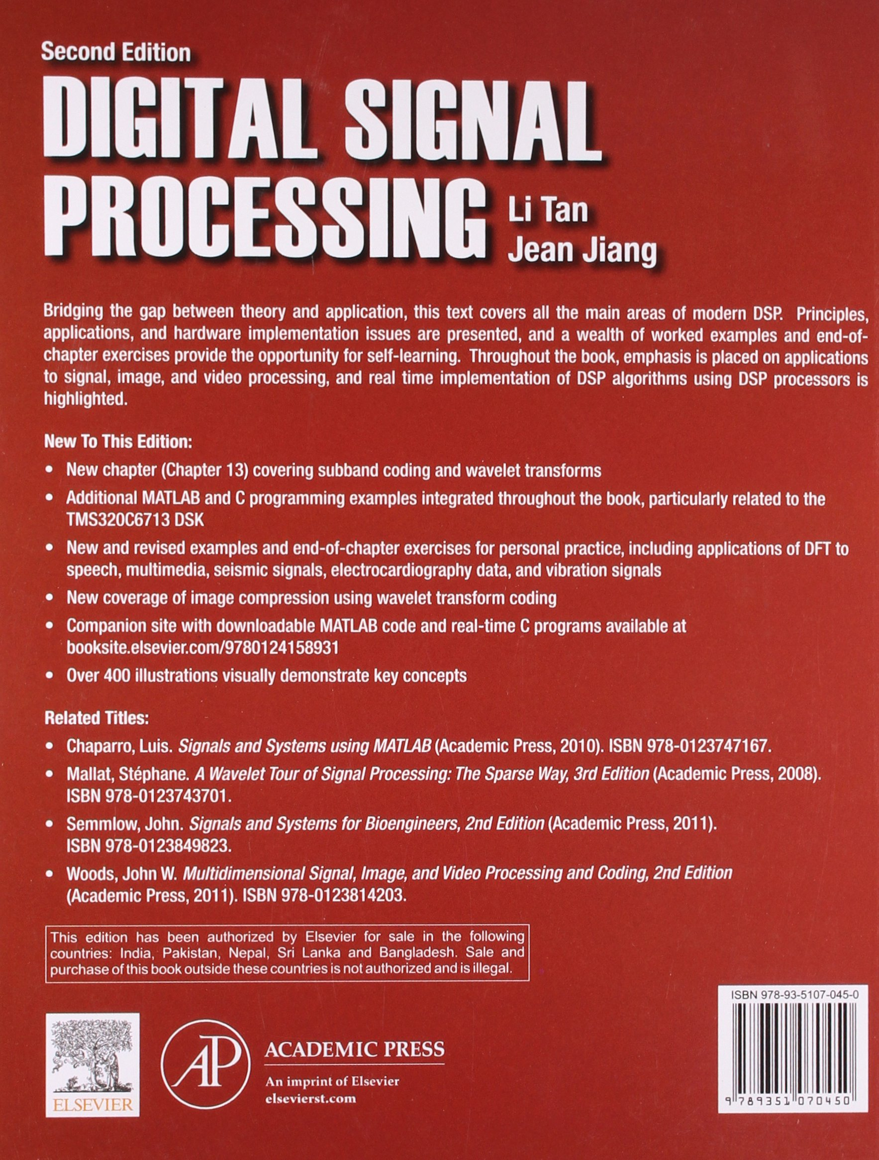 Digital signal processing fundamentals and applications jean jiang digital signal processing fundamentals and applications jean jiang li tan 9789351070450 amazon books fandeluxe Image collections