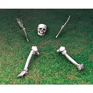 Décoration squelette Disjoncteur Prop au sol