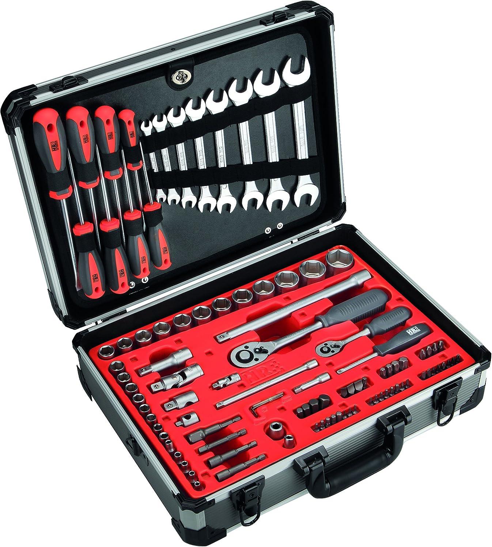 HR 170822 Maleta Aluminio 120 Herramientas, 0 V, Set Piezas: Amazon.es: Bricolaje y herramientas