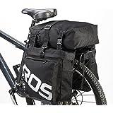 ArcEnCiel 自転車サイドバッグ 多機能リアバッグ 収納力抜群リアサイドバッグ