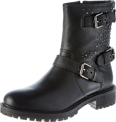 D Hoara Boots Geox C Damen Biker 8wkOP0nX