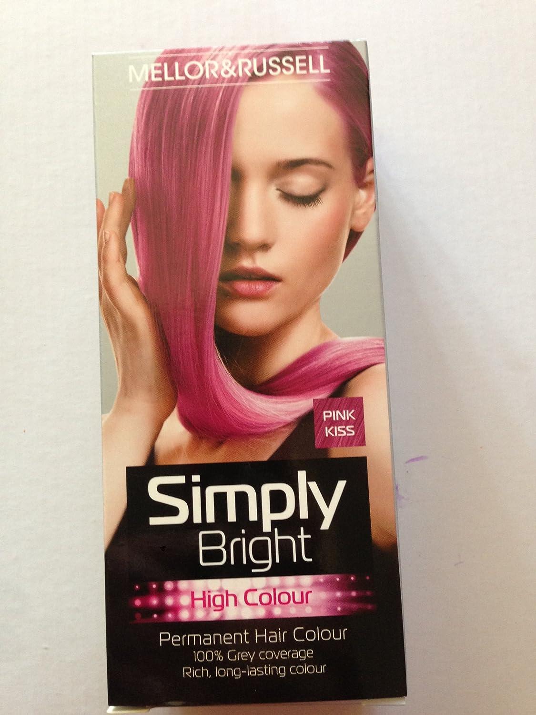 MELLOR & RUSSELL - Tinte permanente para el pelo, color rosa