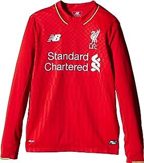 New Balance Liverpool Kids (Boys Youth) Long Sleeve Home Football Shirt 2015  2016 15cfbee7e