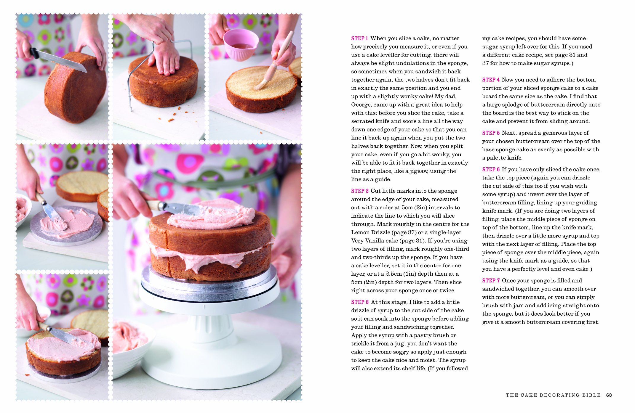 Groovy The Cake Decorating Bible Simple Steps To Creating Beautiful Personalised Birthday Cards Paralily Jamesorg