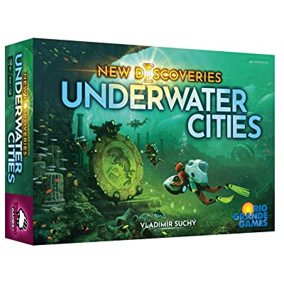 Underwater Cities: New Discoveries Expansion: Toys & Games