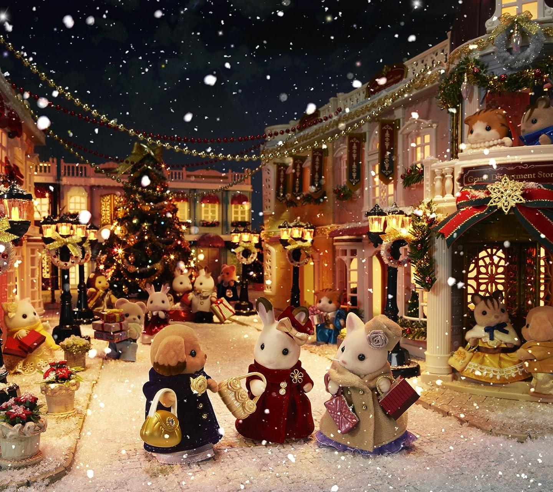 シルバニアファミリー シルバニアファミリー タウンシリーズ クリスマス HD(1440×1280)スマホ 壁紙・待ち受け