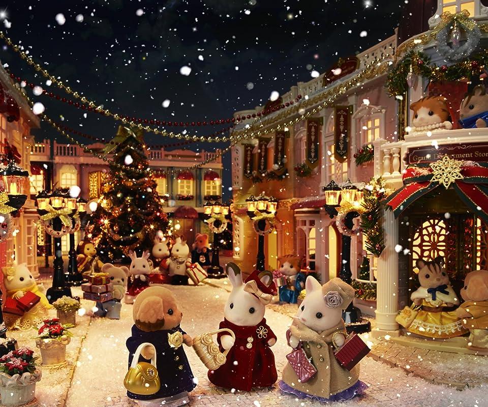 シルバニアファミリー シルバニアファミリー タウンシリーズ クリスマス Android(960×800)待ち受け画像