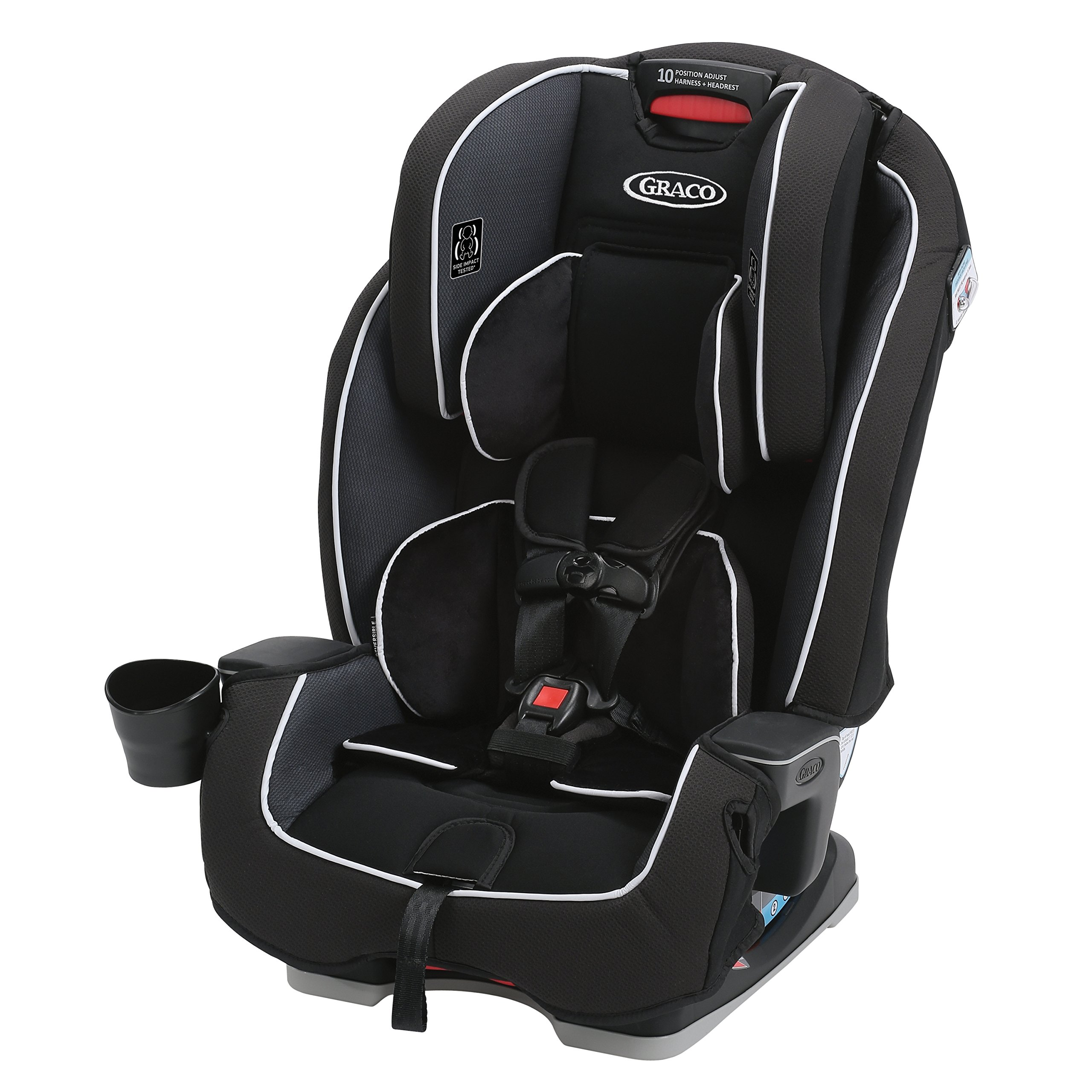 Graco Milestone All-in-1 Convertible Car Seat, Gotham by Graco (Image #1)