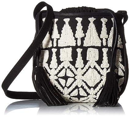 2f6316bd0067 Lucky Reeve Crossbody, Black/White: Handbags: Amazon.com