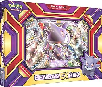 PoKéMoN 25941 – Gengar de Ex Caja de Cartas coleccionables: Amazon.es: Juguetes y juegos