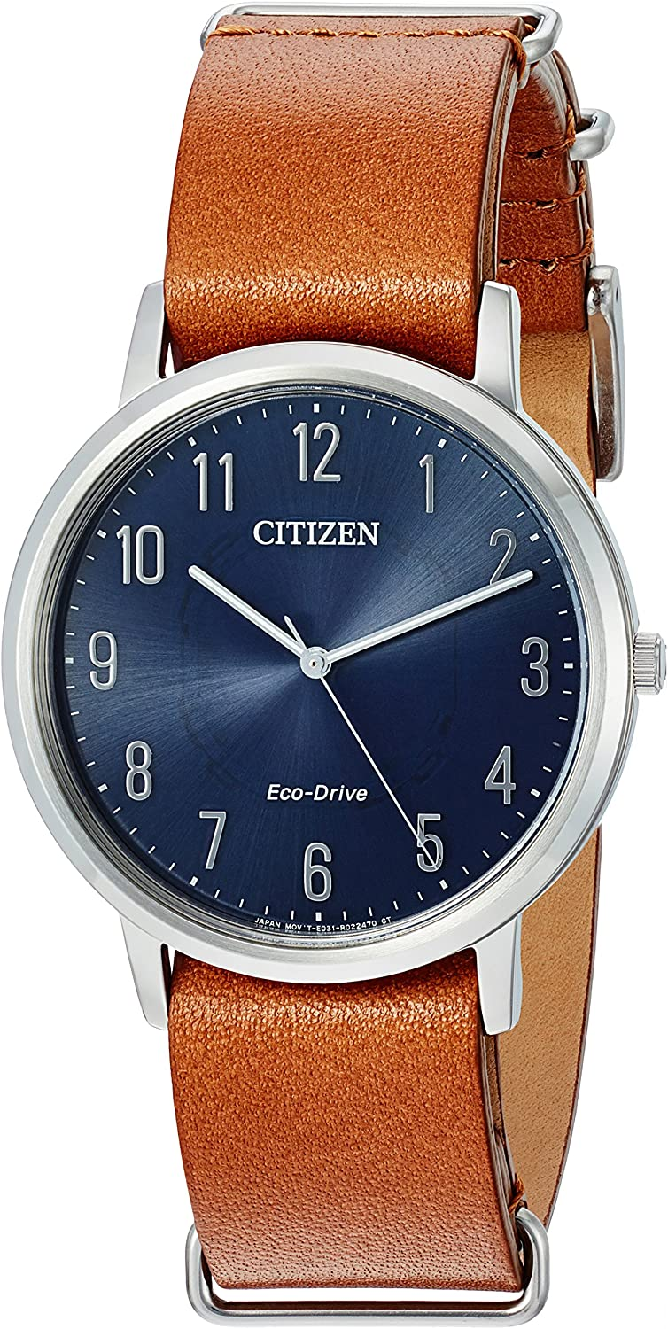 Citizen Men s Eco-Drive Stainless Steel Watch, BJ6500-12L