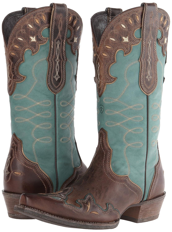 Ariat Women's B00NUITALY Zealous Western Cowboy Boot B00NUITALY Women's 10 B(M) US Barnwood da1fc5