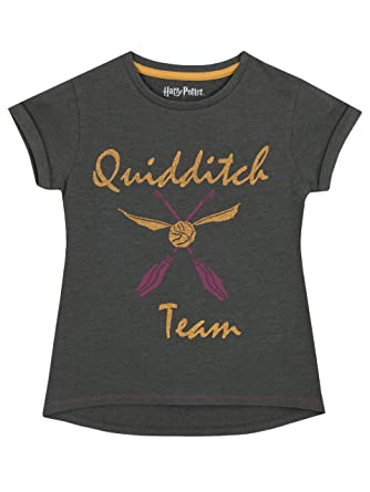 d48c3b69e4719 HARRY POTTER - T-Shirts Quidditch - Fille  Amazon.fr  Vêtements et ...