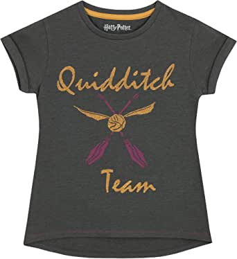 HARRY POTTER - Camiseta para niñas Quidditch