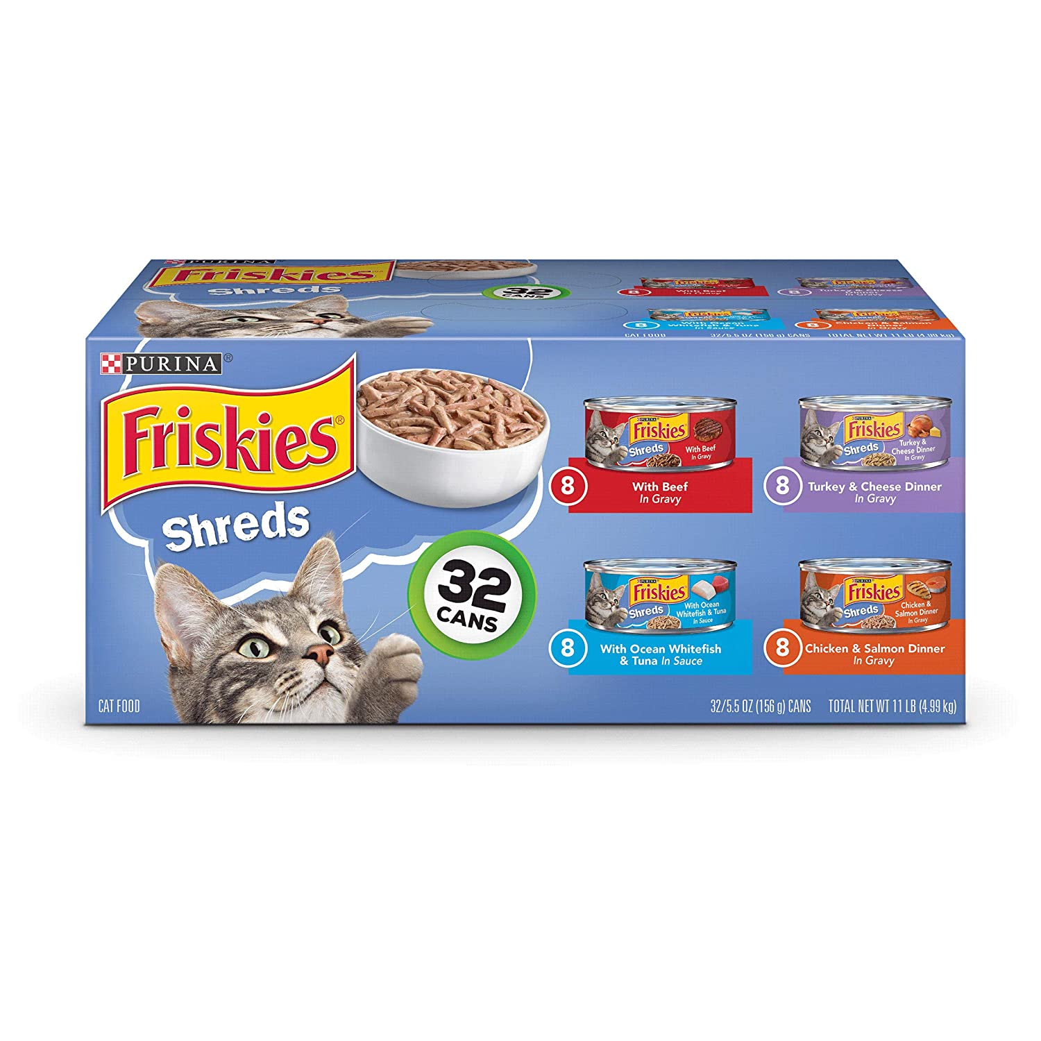 Purina Friskies Canned Wet Cat...
