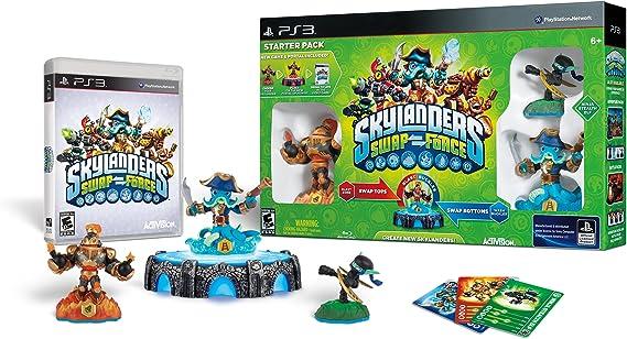 Activision Skylanders Swap Force - Juego (PlayStation 3, Acción / Aventura, RP (Clasificación pendiente)): Amazon.es: Videojuegos