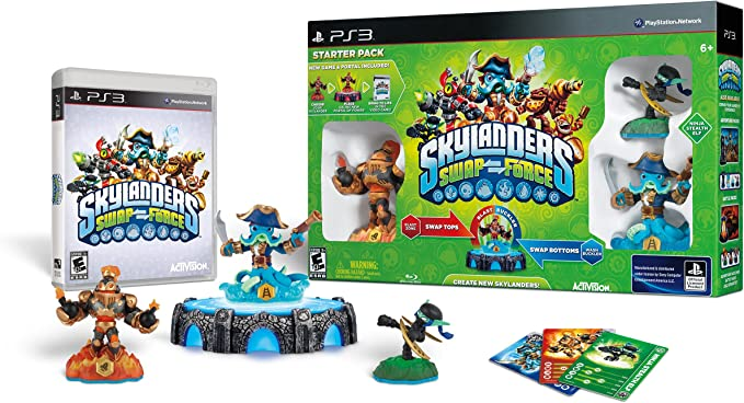 Activision Skylanders Swap Force - Juego (PlayStation 3, Acción ...