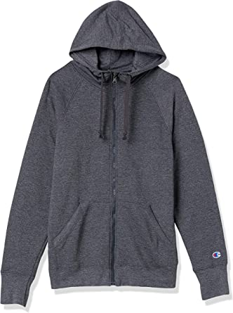 TALLA XXL. Champion Womens Fleece Full Zip Hoodie (W0933)