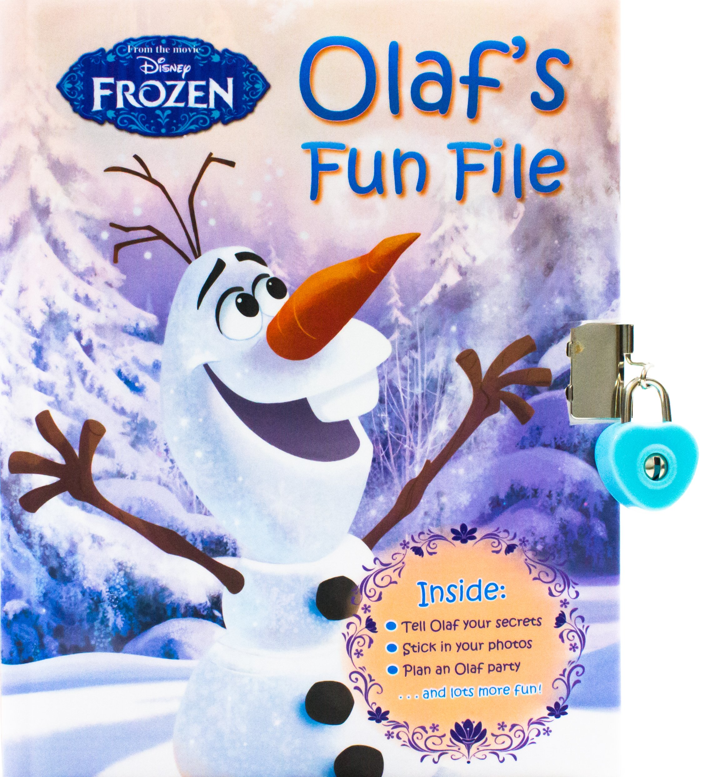 Disney Frozen Olaf's Fun File with Lock & Key (Book of Secrets) PDF Text fb2 book