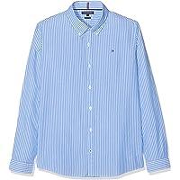 Tommy Hilfiger Boys Blue Stripe Shirt L/S Blusa para Niños