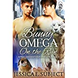 Bunny Omega on the Run: MM Mpreg Shifter Popstar Romance (Shifter Towers Book 1)