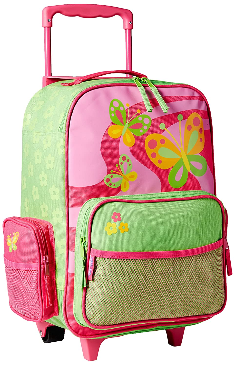 Amazon.com: Stephen Joseph Classic Rolling Luggage, Butterfly ...