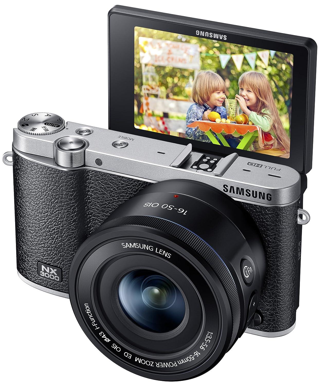Amazon.com : Samsung NX3000 Wireless Smart 20.3MP Mirrorless ...
