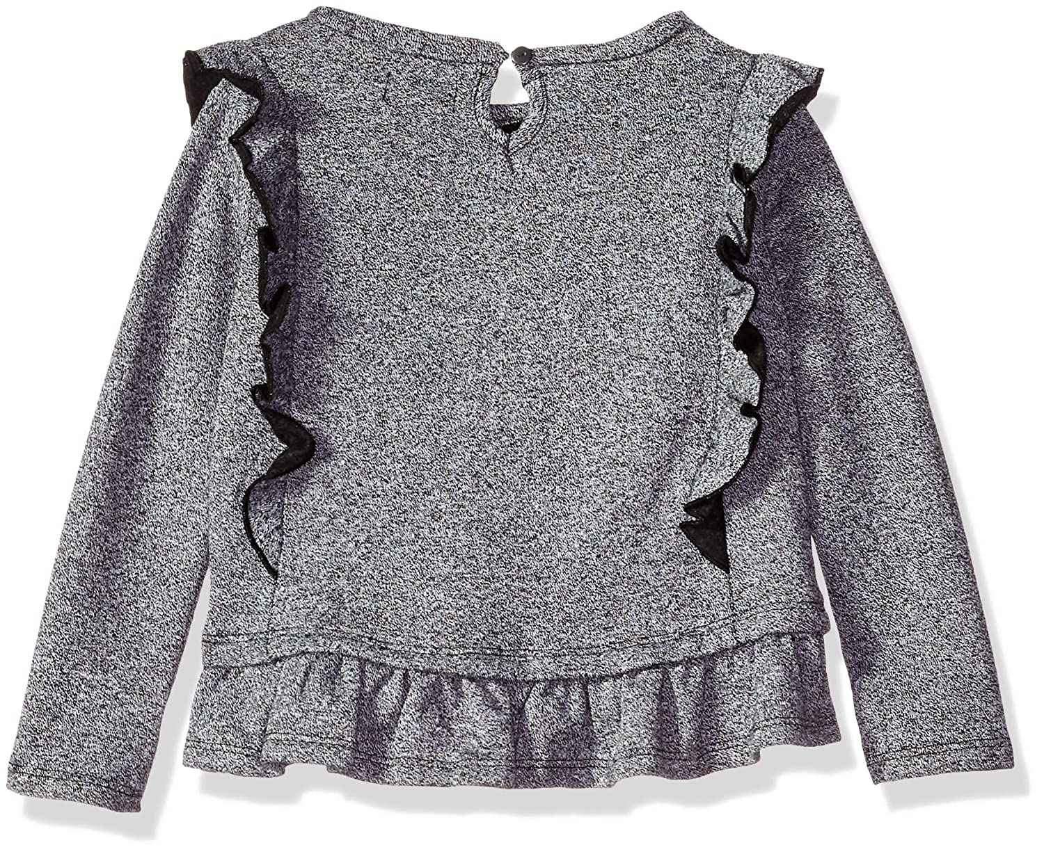 DKNY Girls 2 Piece Cute Long Sleeve Top with Legging Set